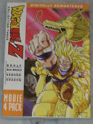 Dragon Ball Z Movie Pack Collection Three 3 Movies 10-13 Dvd Box Set - Sealed