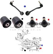 For Bmw X5 E53 99-05 Front Suspension Control Arm Bushes Ball Join Kit