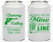 White Wedding Koozies Koozie Favors Gift Ideas Decorations Gifts 474