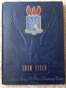 1942 Shaw Field Army Air Corps Basic Flying School Yearbook Sumter Sc Wwii