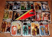 Star Wars Black 40th Anniversary All 13 6 Action Figure Wave 1 And 2 Complete Set