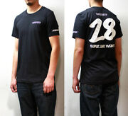 Volk Racing 28 Rays Cotton Tshirt Menand039s Xl Size Black Color Ce28n Ce28