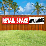 Retail Space Available Advertising Vinyl Banner Flag Sign Large Huge Xxl Sizes