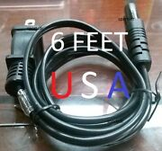 Electric Cord Power Cable Wall Plug For Husqvarna Viking Sewing Machine Inside