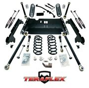 Teraflex 3 Enduro Lcg Long Arm W/ Shocks For And03904-and03906 Jeep Wrangler Unlimited Lj