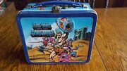 Vintage He-man And The Masters Of The Universe Metal Lunchbox And Thermos 1984