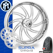 Performance Machine Supra Motorcycle Wheel Front Package Harley Touring 21