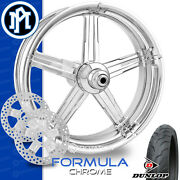 Performance Machine Formula Chrome Motorcycle Wheel Front Package Harley 21