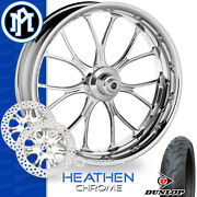 Performance Machine Heathen Motorcycle Wheel Front Package Harley Touring 21