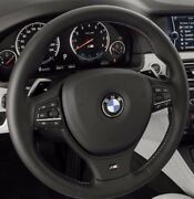 Bmw Oem F10 M5 Heated Steering Wheel Tri-color Stitching Dct Transmission New