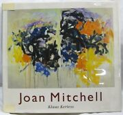 Joan Mitchell By Klaus Kertess 1997 Abrams Hc Book W/ Dj Oop Good Used Condition