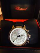 Chopard Mille Miglia Automatic Chronograph Menand039s Watch Model 168511-3015 Mint