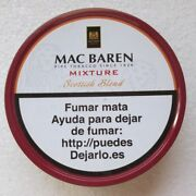 Mac Baren Pipetabacco Mixture Scottish Blend Made In Denmark Tin Size 4.5x1.5in