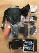 Go Pro Hero 3+, Silver, Barely Used With Many Accessories