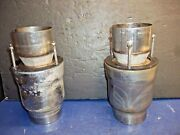 Boat Marine Exhaust Tips 4 With 3 Screws And Nuts