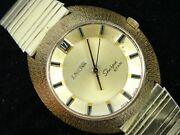 Rare Vintage 60and039s Enicar Sherpa Star 144-49-02 Date Automatic Menand039s Watch Work