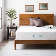 Lucid 6 8 10 And 12 Inch Gel Memory Foam Mattress - Twin Full Queen And King
