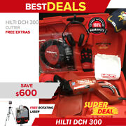 Hilti Dch 300 Electric Diamond Cutters Preowned Free Rotatig Laser Fast Ship