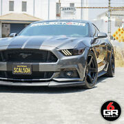 19 Project 6gr Five 10/11 Satin Black Wheels For Mustang Eco Boost Gt Pp