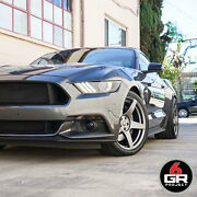 19 Project 6gr Five 10/11 Satin Graphite Wheels For Mustang Eco Boost Gt Pp