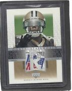 Donte Stallworth 2002 Honor Roll Nfl Equipment Logo Shield Patch Rookie Rc