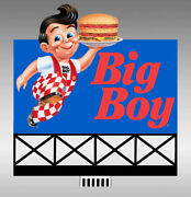 Boband039s Big Boy Animated Sign Kit 44-2902 N/ho Scale Miller Engineering New