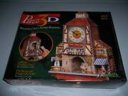 Wrebbit Puzz 3d Bavarian Clock Puzzle 404 Pieces Real Working Clock New