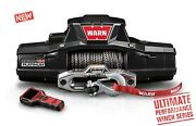 Warn Zeon 10-s Platinum Series Winch 10,000 Lbs Truck Jeep Suv Synthetic Rope