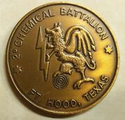 2nd Chemical Battalion Dragons Ser511 Army Challenge Coin
