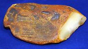 White Raw Natural Baltic Amber Stone 933gr.天然琥珀