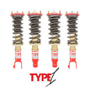 Function And Form F2 Type 1 Coilovers Adjustable For Acura Integra Da 1990-1993