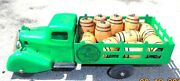 Scarce Old Painted Metal Toy Delivery Truck Advertising Bacardi Rum
