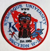 Ktemaque University Patch Red Section W1a Oa Bsa