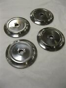 1956 Ford Pickup Truck Stainless Door Handle Escutcheons Set 4 B6c-48139-ss