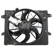 Crown Victoria Towncar Marauder Radiator Ac Condenser Cooling Fan Motor Assembly