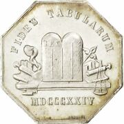 [72968] France Notary Token 1824 Au55-58 Silver Lerouge 99e 13.13