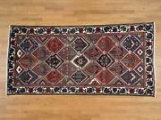 5and0393and039and039x10and0392and039and039 Semi Antique Persian Bakhtiari Garden Design Wide Runner Rug G37887