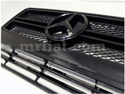 Mercedes G-wagon Amg G500 G550 W463 G63 G65 Black Smoked Out Radiator Grill New