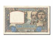 [200159] France 20 Francs 20 F 1939-1942 And039and039science Et Travailand039and039 1941 Km