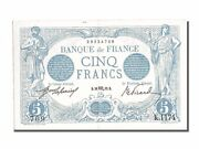 [201130] France 5 Francs 5 F 1912-1917 And039and039bleuand039and039 1912 Km 70 1912-10-28