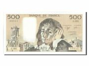 [203684] France 500 Francs 500 F 1968-1993 And039and039pascaland039and039 1989 Km 156g