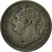 [451649] Great Britain George Iv Farthing 1825 Ef40-45 Copper Km677