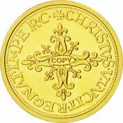 [470850] France Medal Henri Iii French Fifth Republic History Ms63 Gold