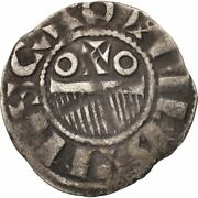 [500188] French States Champagne Provins And Sens Denarius Ef40-45 Silver