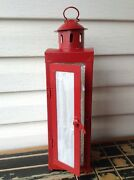 Retired New 2005 Dept 56 Time To Celebrate Red Lantern 15.5