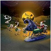 Nightmare Before Christmas 20th Anniversary Village Sleigh Set [limited Edition]