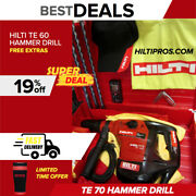 Hilti Te 60 Hammer Drill,one Of The Best, Free Laser And More, Made In Germany