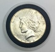 1922 S Peace Silver Dollar Lustrous Coin Great Gift Idea W Nice Capsule