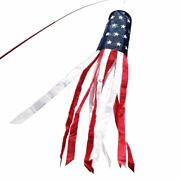Anley American Us Flag Windsock - Stars And Stripes Usa Patriotic Decorations