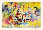 Leroy Neiman Montreal And03976 | Rare Hand Signed Print | Olympics | Make An Offer